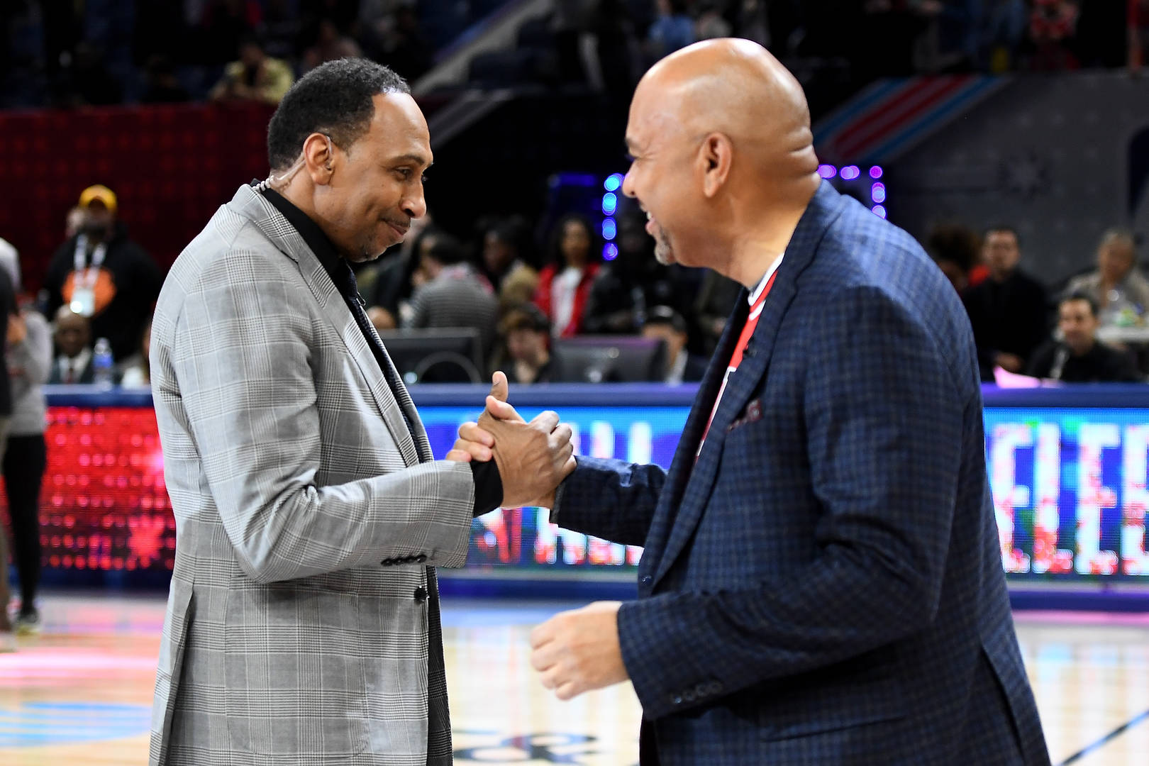 Stephen A. Smith and Michael Wilbon