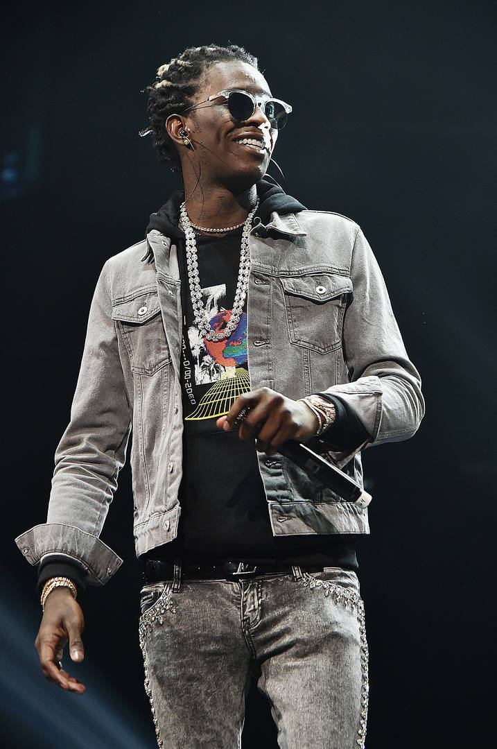 Rapper Young Thug performs onstage during Power 105.1's Powerhouse 2016 at Barclays Center on October 27, 2016 in New York City.