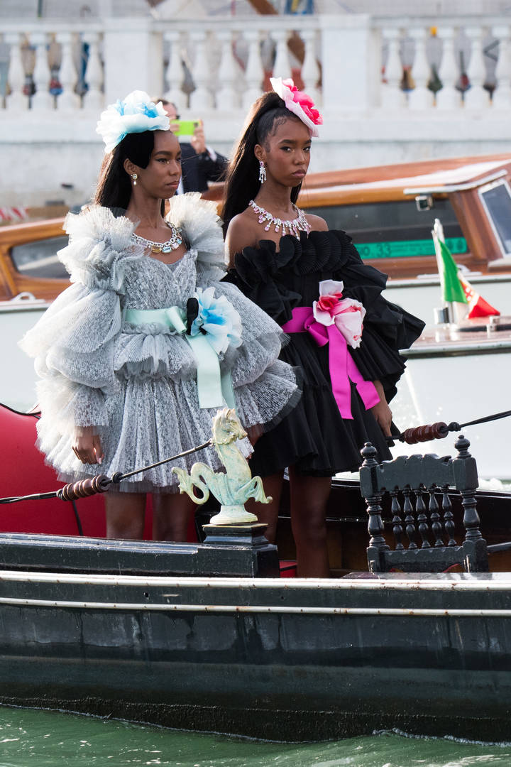 Diddy's Daughters Dolce & Gabbana