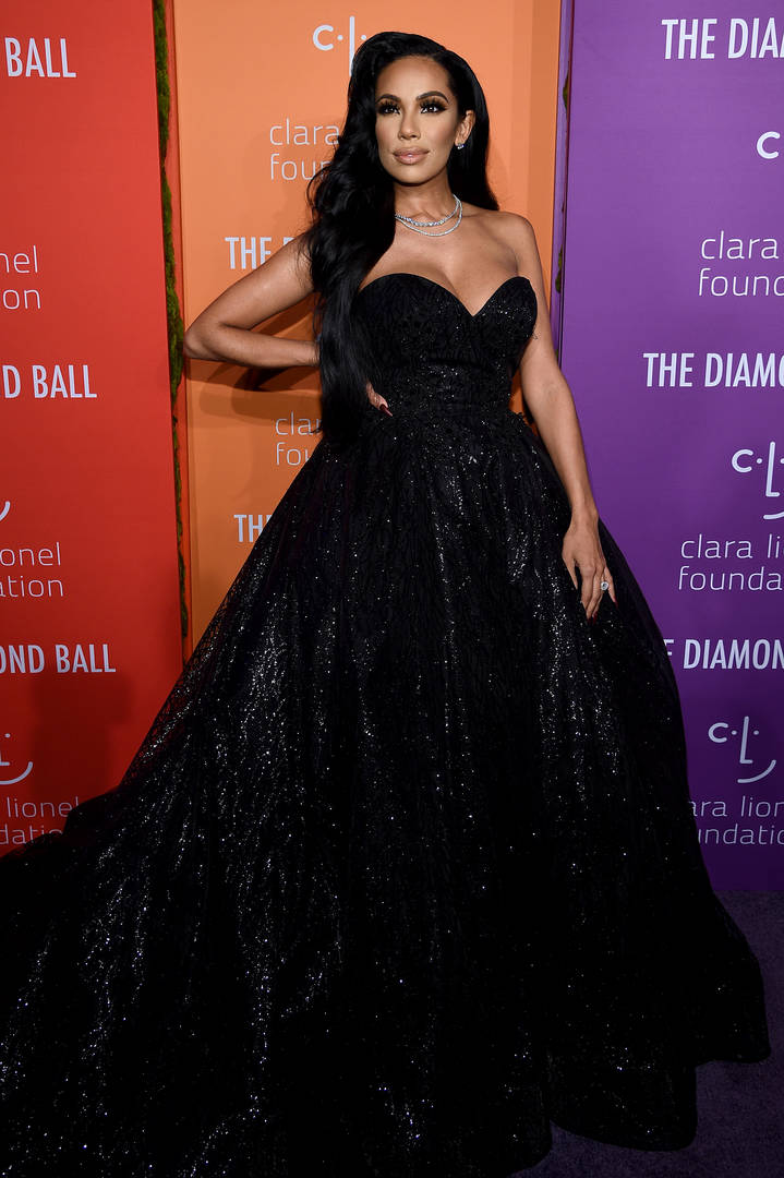 Erica Mena attends Rihanna's 5th Annual Diamond Ball Benefitting The Clara Lionel Foundation at Cipriani Wall Street on September 12, 2019 in New York City.