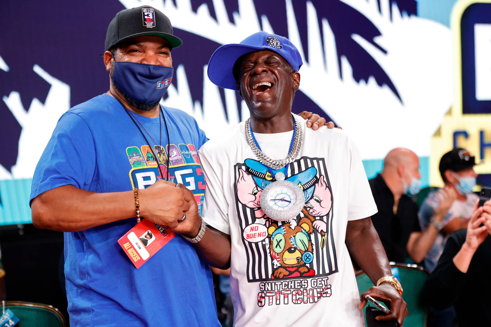 Ice Cube and Flavor Falv
