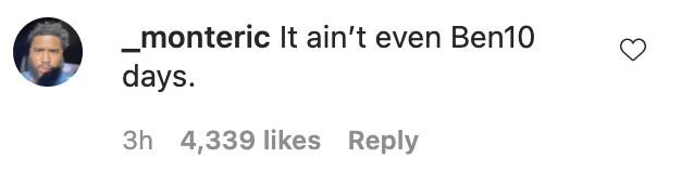 Screenshot of SayCheese Instagram Comments 9/8/21