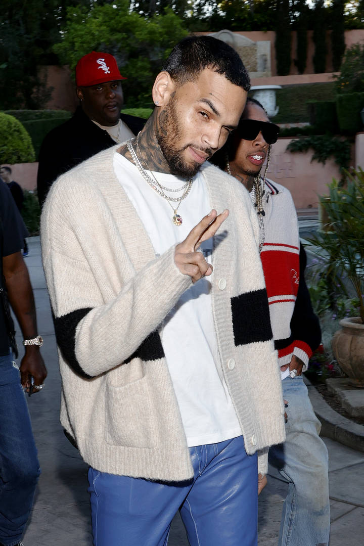 Chris Brown security battery report