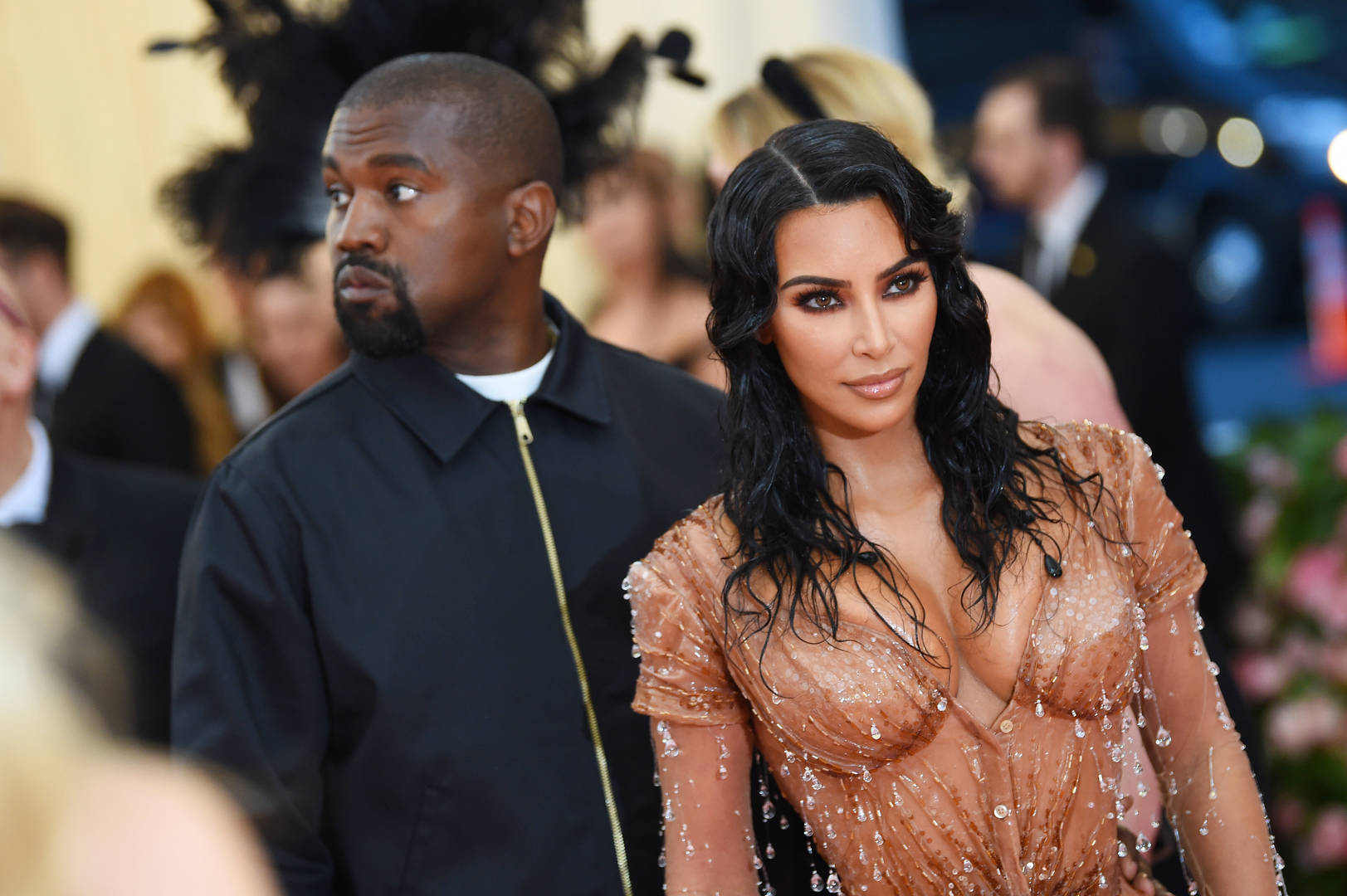 Kim Kardashian West and Kanye West attend The 2019 Met Gala. (Photo by Dimitrios Kambouris/Getty Images for The Met Museum/Vogue)